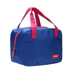 Portabe Waterproof Thickne Inuated Picnic Choounch Bag (Dark Bue) - Intl