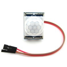 Pyroelectric Infrared PIR Motion Sensor Detector Module W / 3-pin Cable For Arduino - Blue + White