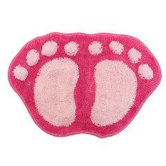 Qiaosha Footprint Mat Bathroom Kitchen Door Floor Pad Rug Bath Soft Carpet