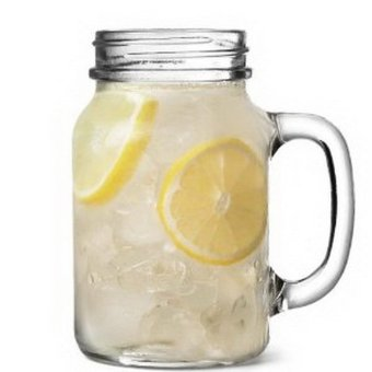 QuincyHome Mug Jar Glass