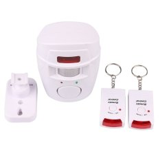 S & F 105dB Motion Sensor Detector Alarm Wireless IR Infrared Remote Security System - Intl