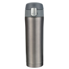 S & F Travel Mug Office Tea Coffee Water Cup Bottle Stainless Steel Thermos Cup 500mL (Grey) (Intl)