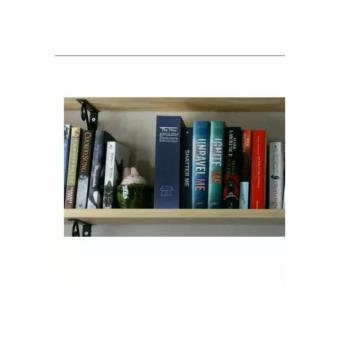 Safe Deposit Box Bentuk Buku Brangkas Tempat Penyimpanan Rahasia Barang Barang Berharga Seperti Uang Perhiasan Kunci