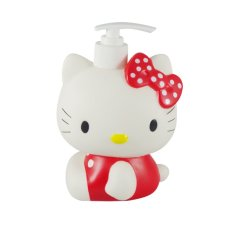 Sanrio Dispenser Sabun Cair Karakter Hello Kitty (Merah)