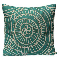 Sanwood Vintage Cotton Linen Pillow Case Cushion Cover Home Decor Type 14 (Intl)