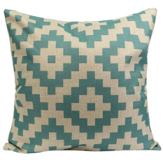 Sanwood Vintage Cotton Linen Pillow Case Cushion Cover Home Decor Type 2 (Intl)