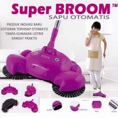 SAPU MODERN OTOMATIS - SUPER BROOM BOLDE UNGU