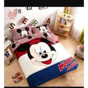 Selimut Flanel Halus Mickey Mouse Karakter 3d Kualitas Importukr Source Selimut bulu Mickey .
