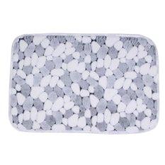 Soft Floor Rug Carpet Bath Bathroom Bedroom Home Kitchen Shower Mat Non-slip Pad (Intl)