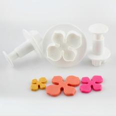Sporter Cake Plunger Hydrangea Type Cookie Mold Tools