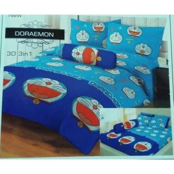 Sprei Lady Rose 160x200 Doraemon