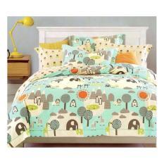 Sprei Katun Motif Ayam Love Uk 120x200x20 Daftar Update Harga Source · Sprei Motif Pinguin Dotty
