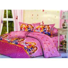 Sprei murah ukuran 180 x 200 motif Barbie Murah