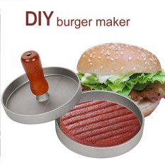 Stuffed Burger Press Hamburger Grill BBQ Patty Maker Juicy Cooking Mould (Intl) - Intl