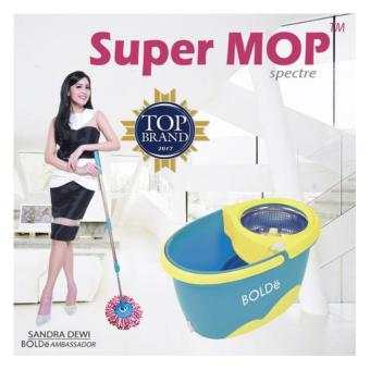 Price Check Super Mop Bolde Spectre Series Biru Toska In Lazada Co Id Handstore