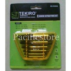 Tekiro Tap Baut Balik - Screw Extractor - 6Pcs