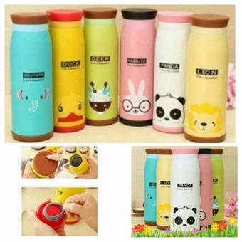 Termos Air Panas Karakter ANIMAL Lucu Stainless Stell500ml,Bergaransi!!