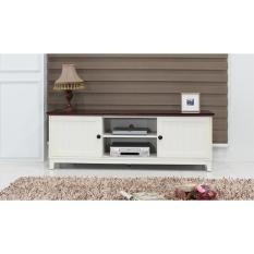 The Olive House - Meja TV Cabinet Mahogany 1500