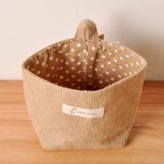 Tidy Bag.1 Pockets Storage Tidy Over Door Wall Hanger Box Holder Hanging Organizer Bag. (Coffee / Speckle) - Intl
