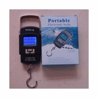 Timbangan digital gantung portable 50kg