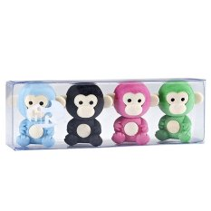 Tinc Scented Monkey Erasers