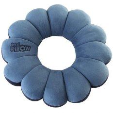 Total Pillow Bantal Leher Serbaguna - Biru