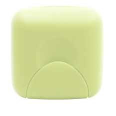Travel Plastic Soap Box Dish Holder Container Storage Box with Lock Small Size (Green)