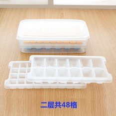 Two Layers Of A Transparent Square Ice Lattice Freshman Team And With Crisper Suit - Intl