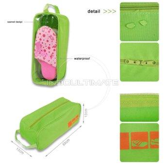 Ultimate Shoes Pouch Organizer / Tas Untuk Menyimpan Sepatu Murah TS-01 - Pink