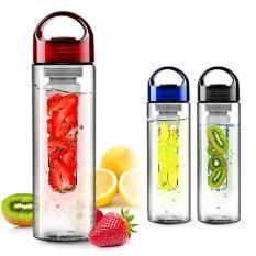Universal Botol Minum Infuser Tritan BPA Free 700ML - Black