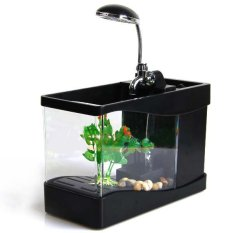 USB Mini Aquarium Wonderful Life - Lileng-918 - Black