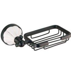 Usherlife SUL-BA-7003 ORB Bathroom Accessory Soap Dish Wall Mounted Soap Holder (Black) (Intl)