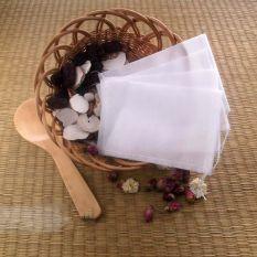 Vanker 100Pcs 10cm*15cm String Empty Teabags Heat Seal Filter Paper Herb Tea Leaves Bag