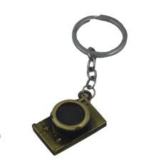 Vococal Vintage Mini Kamera Berbentuk Gantungan Kunci Logam Gantungan Kunci