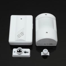 Waterproof Wireless Infrared Monitor Sensor Detector Entry Doorbell Alarm Chime (INTL)