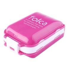Weekly Medicine Drug Pill Box Case Portable Container Organizer 7Color - Intl