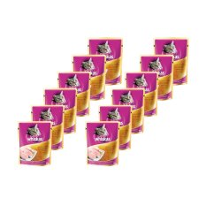 Whiskas Pouch Chicken Tuna – 85gr (12 Pcs)