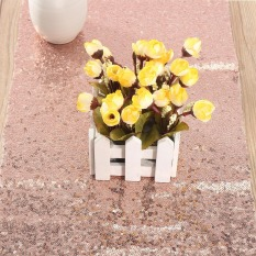 Wholesale Luxury Rose Gold Sequin Table Runners For Wedding Table, Choose Sizes ! - Intl