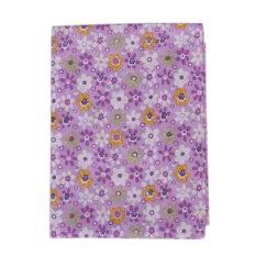 Wholesale Series 7 PCS Pre-Cut Plain Cotton Quilt Cloths Fabrics For Sewing-purple