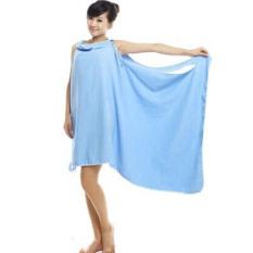 Whyus 2016 Hot Practical Creative Unisex Microfiber Towel Magic Soft Beach Bath Towel(Color: Blue) (Intl)