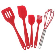 Whyus-High Quality Practical Spatulas Mixing Set Baking Cooking Kitchen Utensils Tools 5Pcs / Set Cooking Tools - Intl