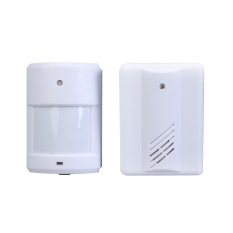 Wireless Infrared Monitor Sensor Detector Entry Door Bell Doorbell Alarm