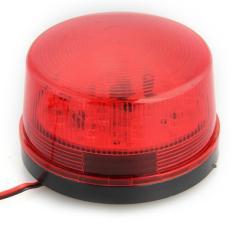 WiseBuy LED 12 Volt Security Alarm Strobe Signal Warning Red Flashing Light (Intl)