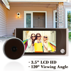 "XCSource 3.5"" LCD HD 120° Digital Camera Smart Doorbell TH191"