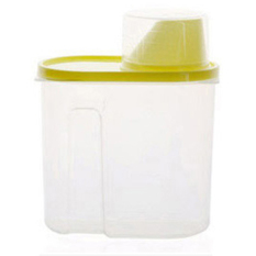 XIYOYO 3 Pcs Grain Sealed Cans Receive The Kitchen Food Storage Jars Ofchild Receive A Case With A Cover On It - Intl