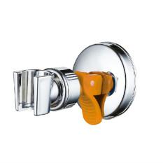 XIYOYO Adjustable Bathroom Chromed Shower Head Holder With Suction Bracket-No Drilling - Intl