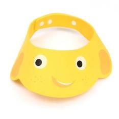 XIYOYO Lovely Baby Shower Cap Children Shampoo Bath Wash Hair Shield Hatadjustable - Intl