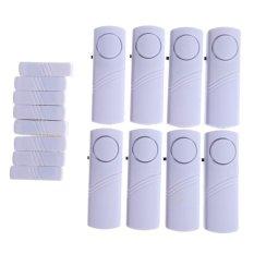 Yangma 8 Set Alarm Pintu Anti Maling Door Entry Alarm - Putih