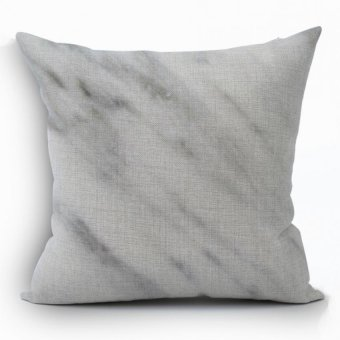 Yazilind Sample Gray Decorative Pillowcase Room Sofa Home 45*45CM / 17.55*17.55 Inch