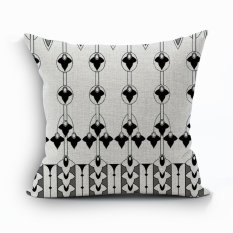 Yazilind Sample Pattern Decorative Pillowcase Room Sofa Home 45*45CM / 17.55*17.55 Inch